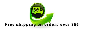 Free Shipping in Europe with orders over 85€